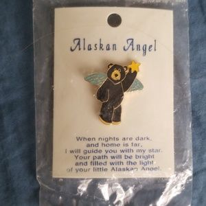 Alaskan Angel Pin